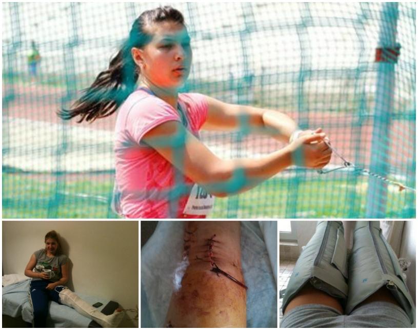 refaceți genunchiul după accidentare