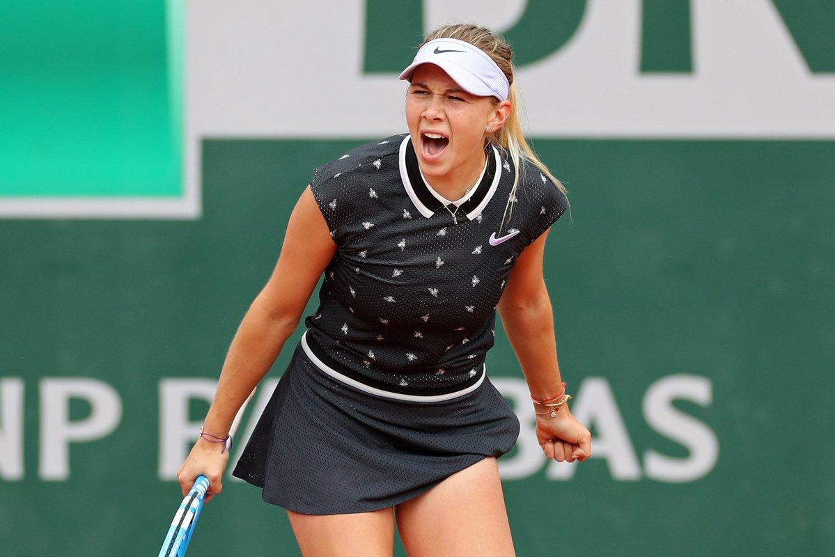 Anisimova, contract fabulos cu Nike. Americanca a strălucit în echipamente identice cu ale Simonei Halep chiar pe zura de la Roland Garros îndrăgită de româncă