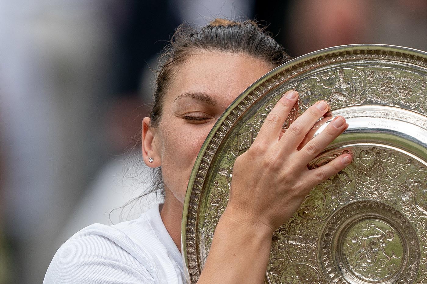 Simona Halep s-a calificat la Turneul Campioanelor în mare parte grație victoriei de la Wimbledon 2019.