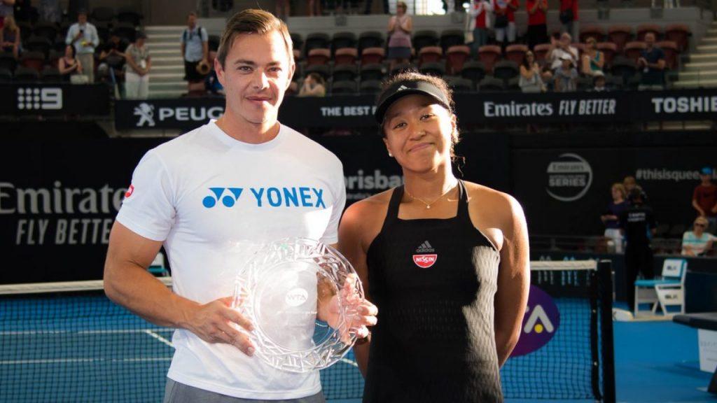 2018-le de excepție alături de Naomi Osaka i-a adus lui Sascha Bajin trofeul