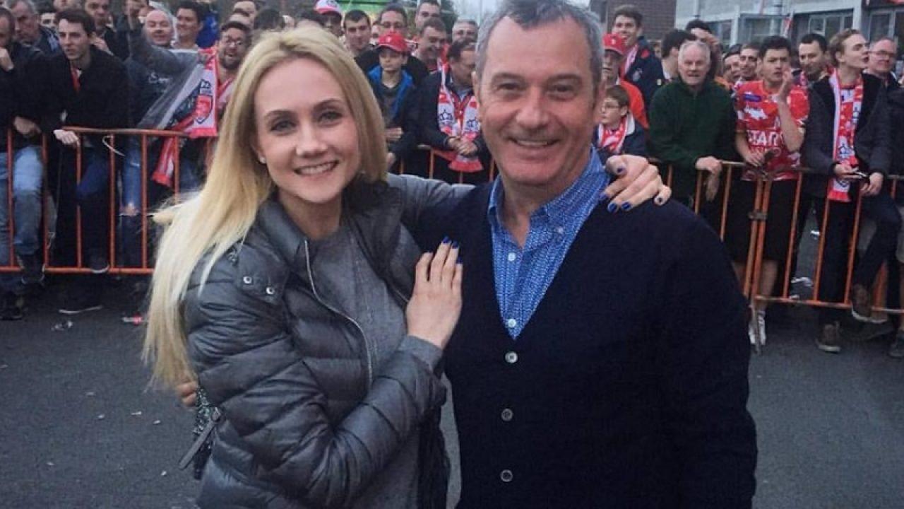Mircea alături de fiica sa, Luana