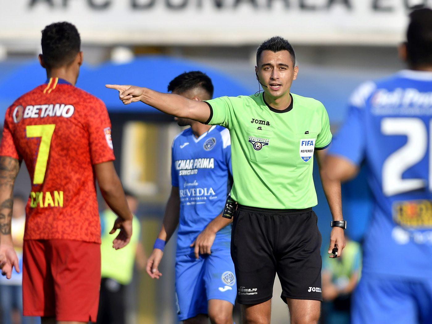 Arbitrul preferat al lui Gigi Becali a fost delegat la derby-ul cu Dinamo