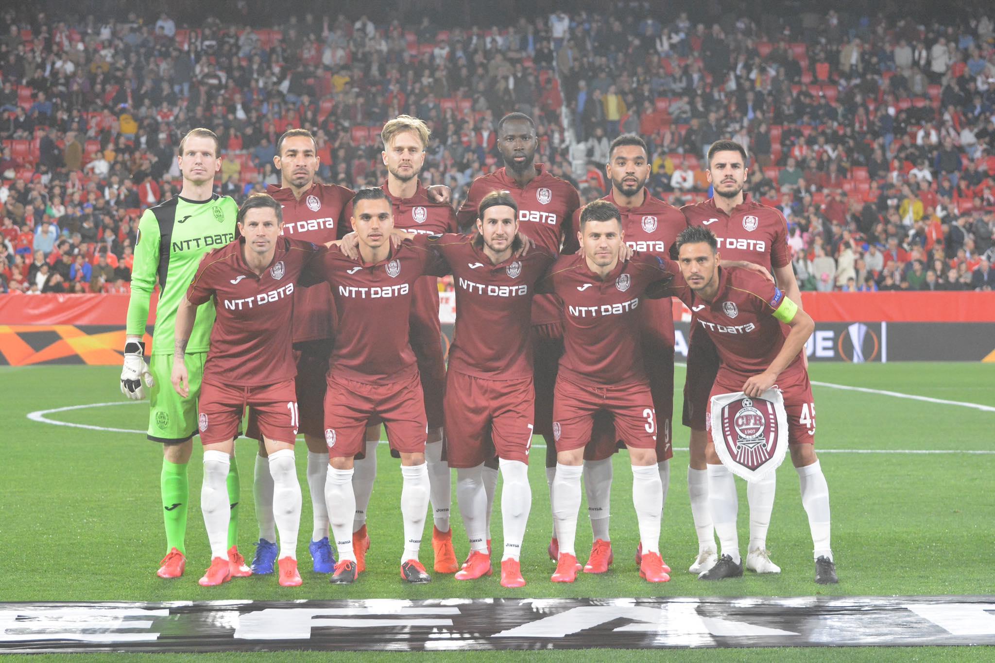 FOTO: Lucian Danciu / Sevilla - CFR Cluj