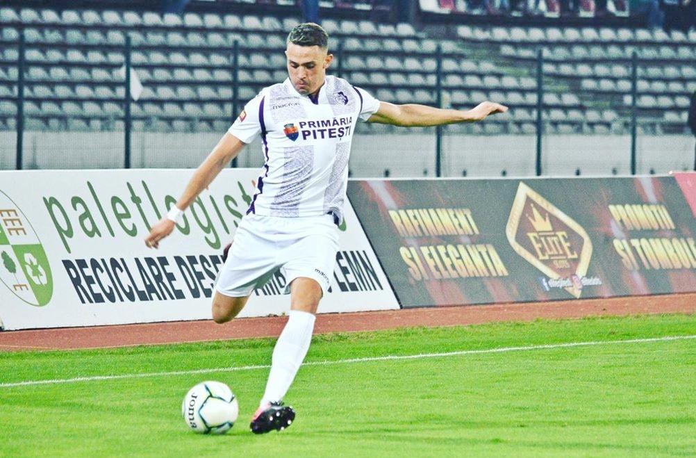 Andrei Blejdea, jucătorul celor de la FC Argeș și golgheterul acestora în actuala ediție a Ligii 2