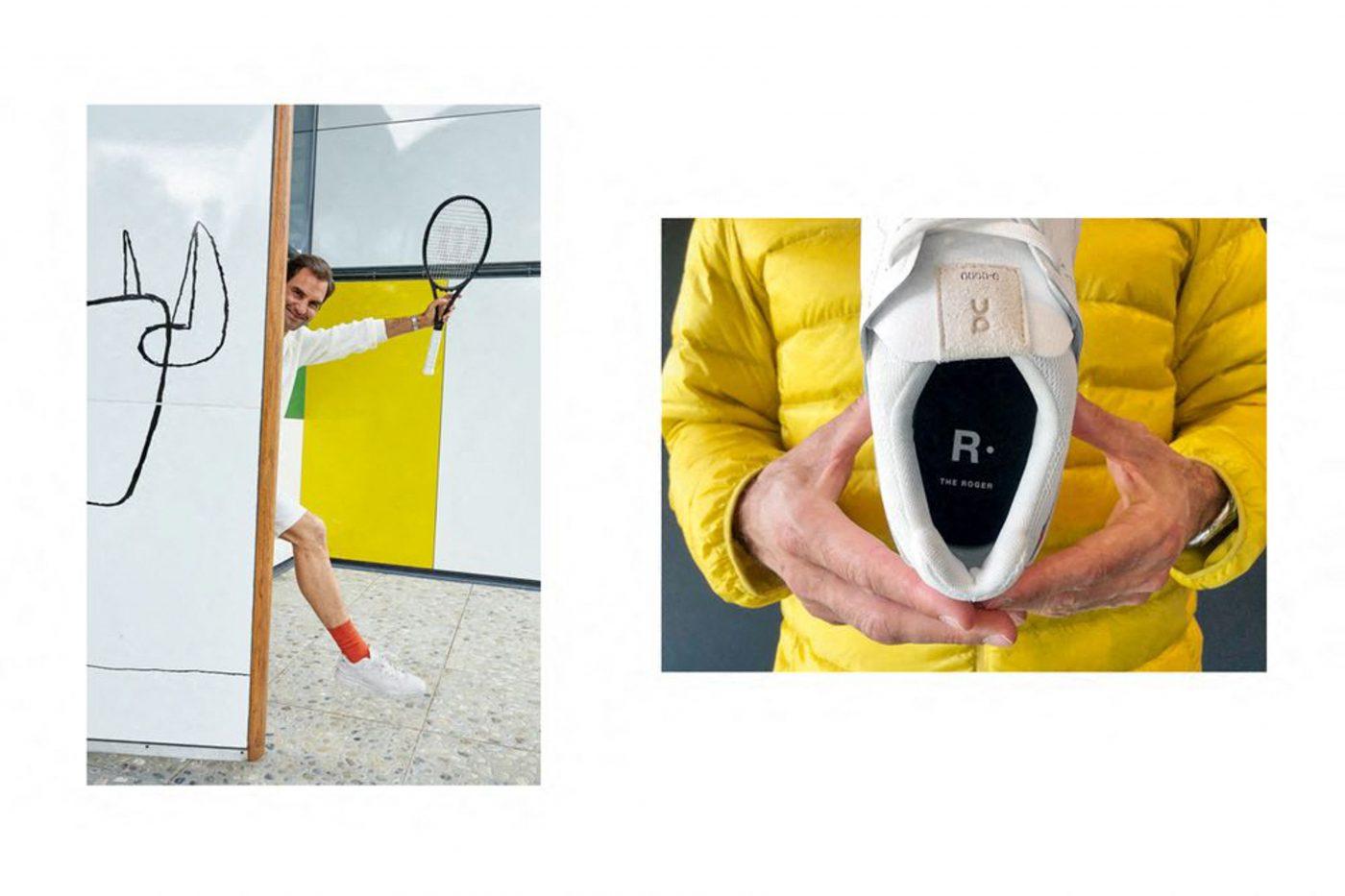roger federer prezentare pantofi sport the roger