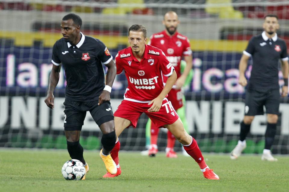 Hermannstadt – Dinamo 0-2, Live Video Online, în etapa a 16-a din Liga 1 | Ocazie uriașă ratată de către sibieni!