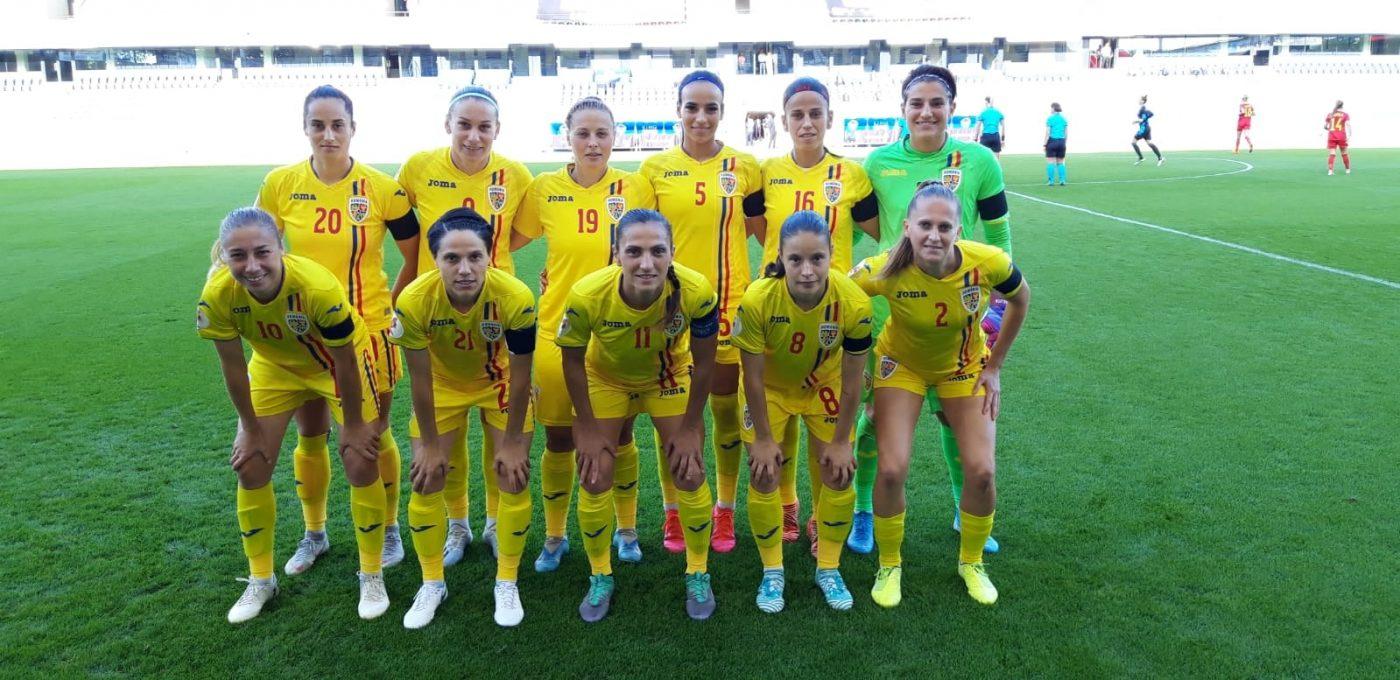 Eșec usturător pentru naționala feminină de fotbal: 1-6 cu Belgia! Marți jucăm acasă cu Croația