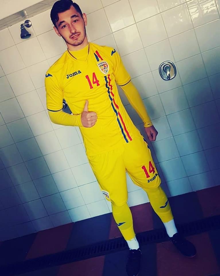Ștefan Cană, la echipa națională