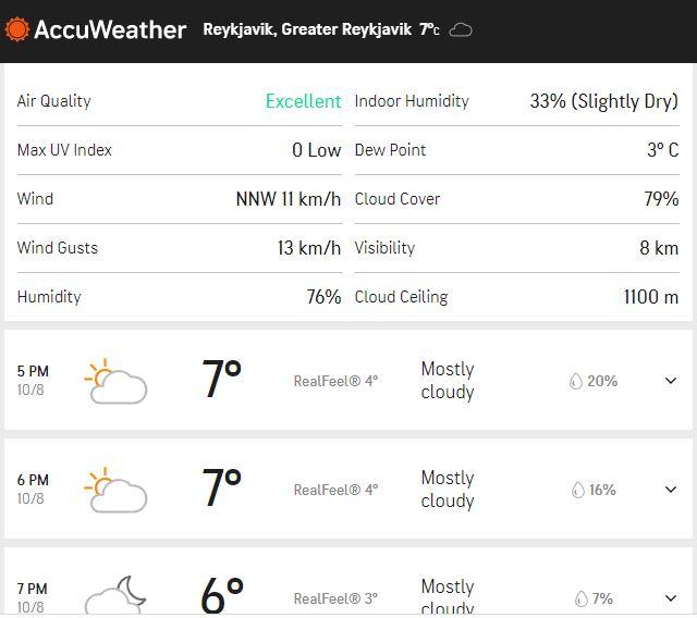 Islanda - România temperatura grade live blog
