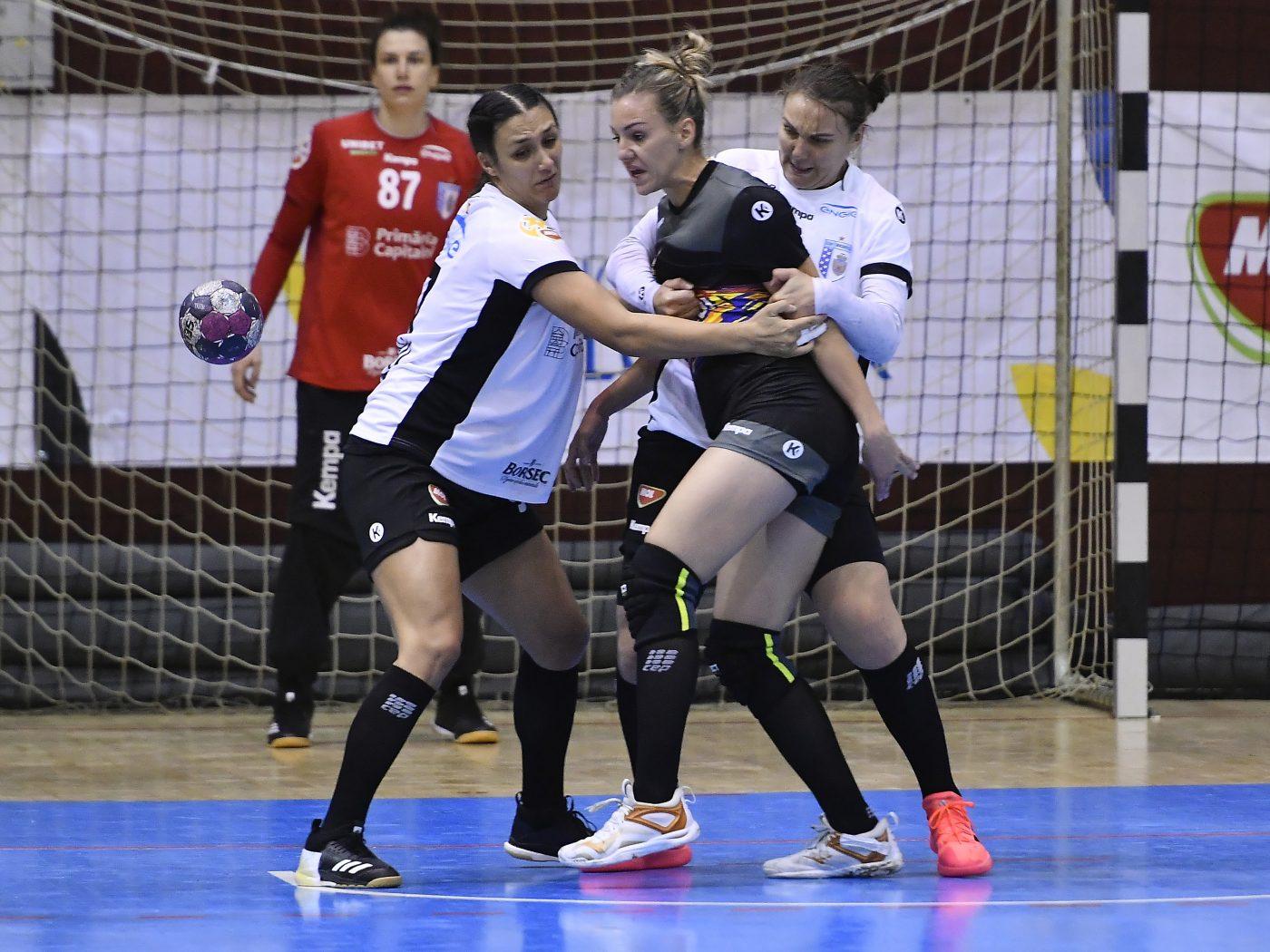 CSM București a început în forță noul sezon în Liga Florilor