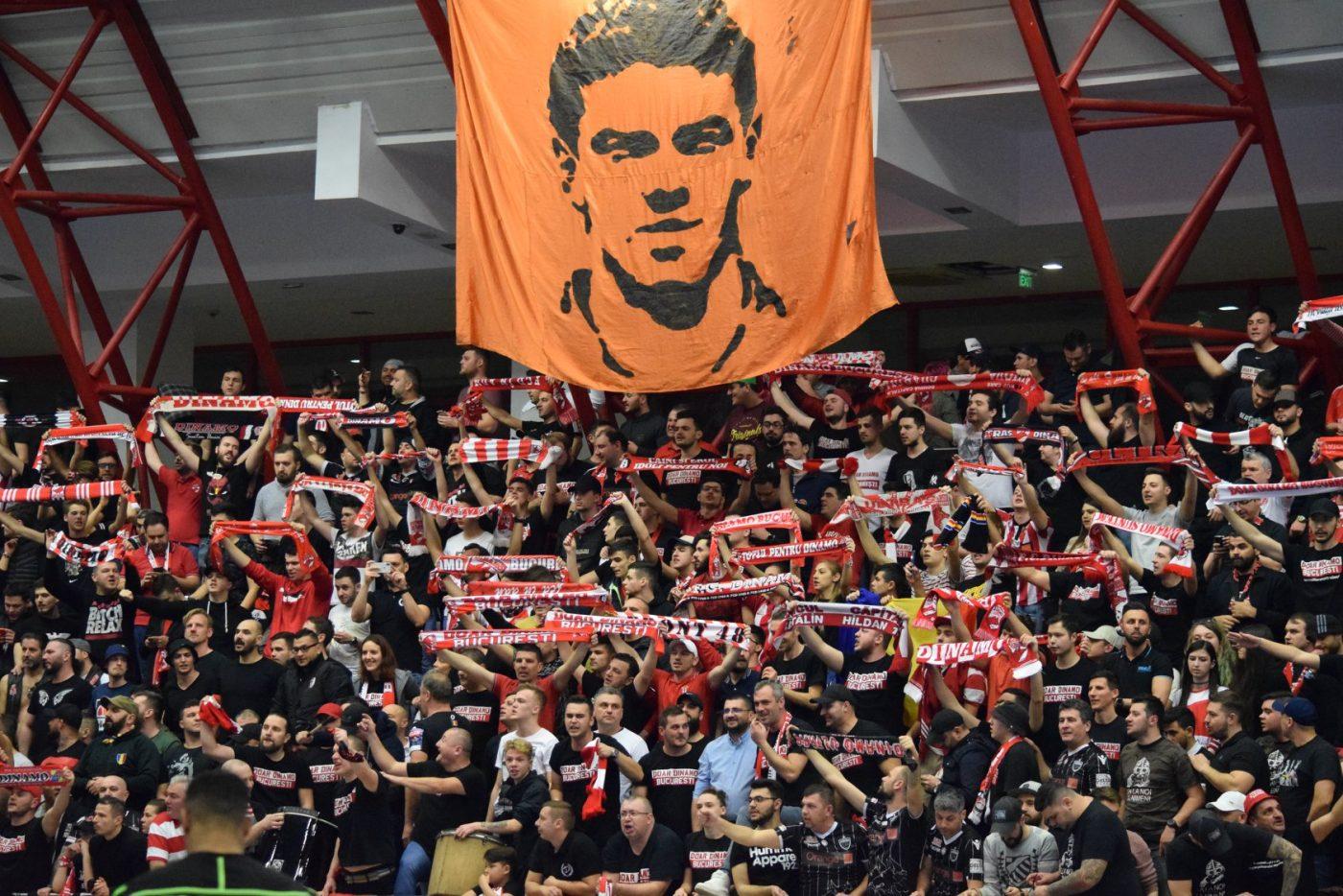 Suporteri Dinamo Bucuresti sporting lisabona