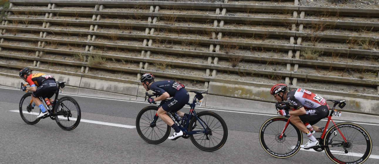Filippo Ganna eroul primei saptamani in turul italiei