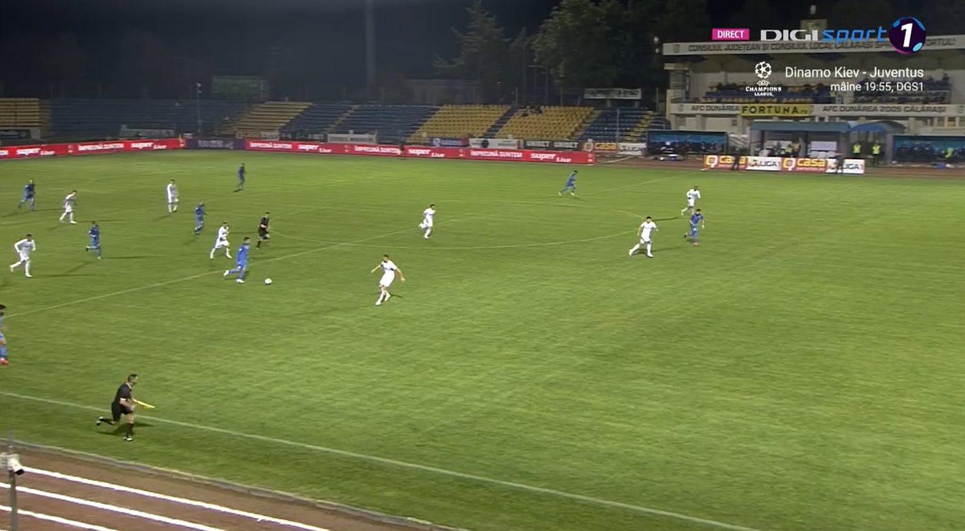 Raul Rusescu a debutat pentru Academica Clinceni chiar impotriva FCSB