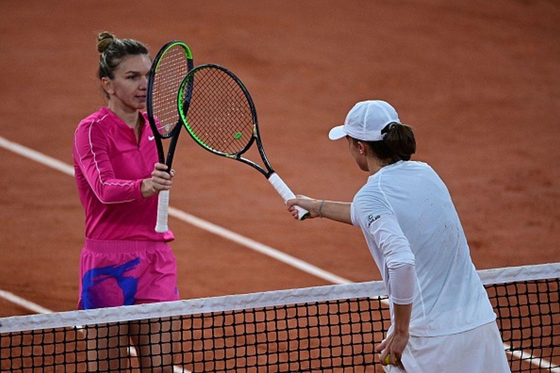 simona halep Iga Swiatek Roland Garros