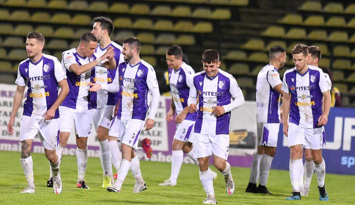 Poli Iași – FC Argeș 1-0! Live Video Online în etapa 11 din Liga 1   Andrei Cristea, gol la meciul cu numărul 400 în Liga 1