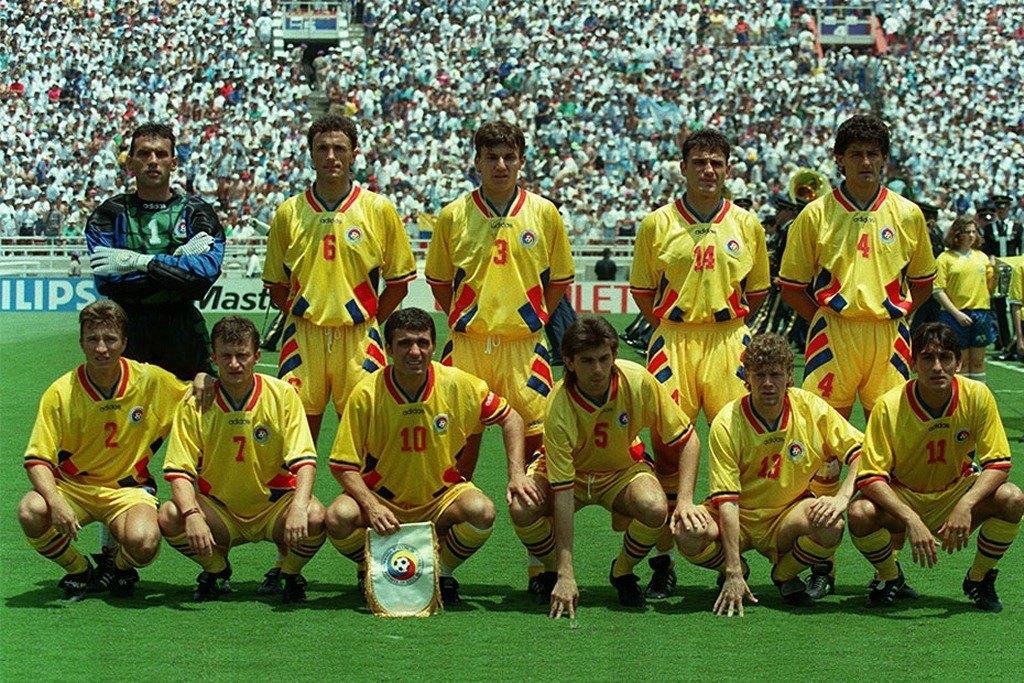 România înaintea partidei cu Argentina, scor 3-2, din SUA 1994