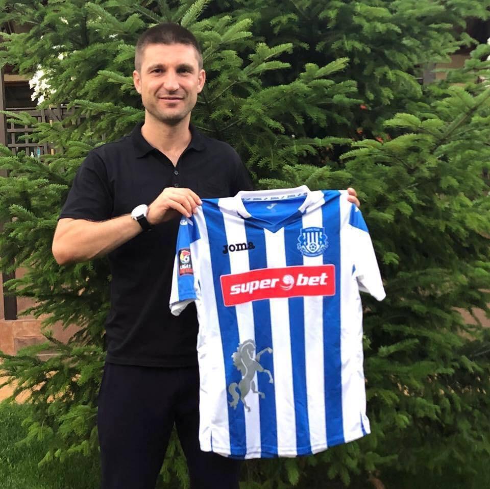 Andrei Cristea și tricoul lui Poli Iași, clubul pentru care a devenit simbol