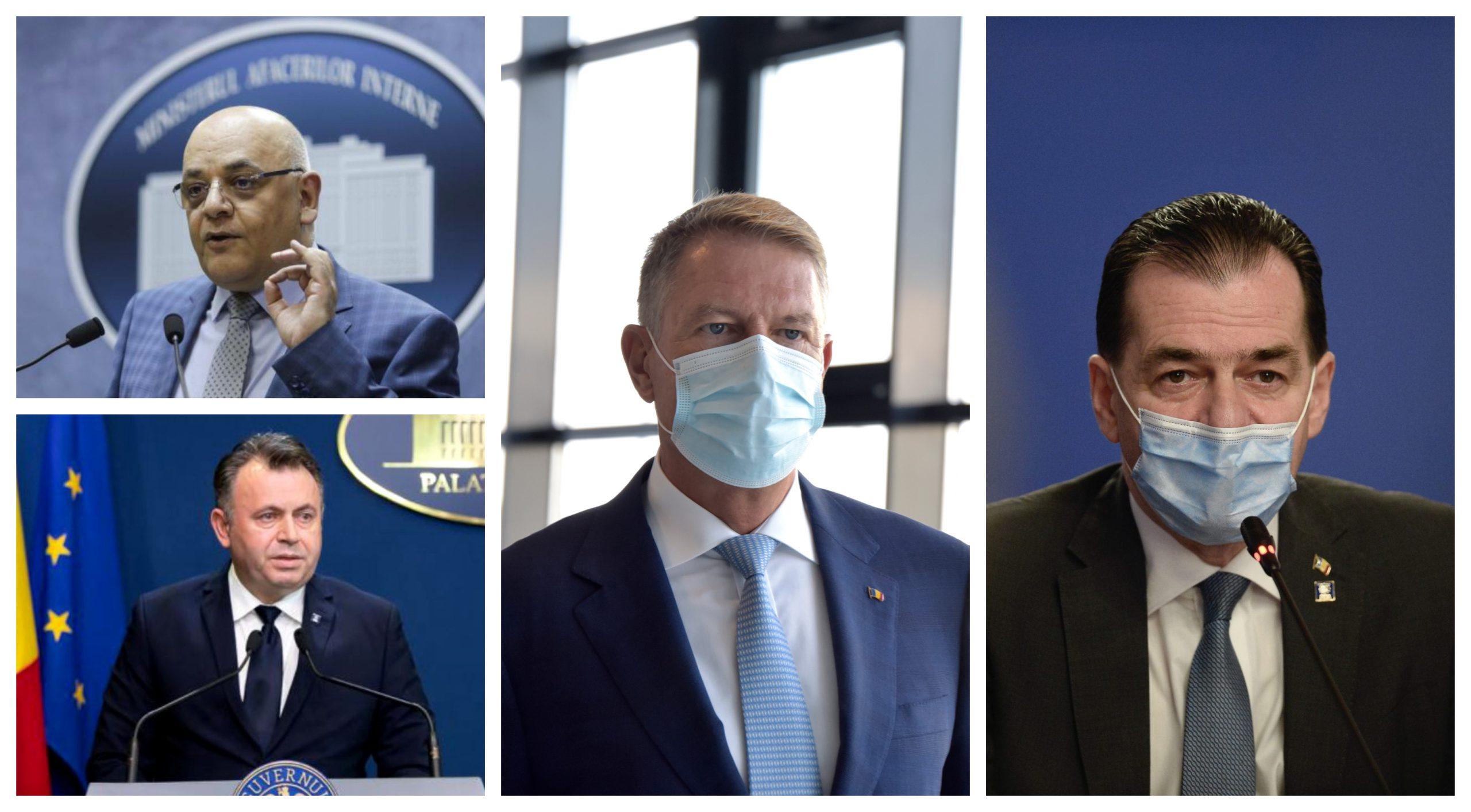 Cum au reacționat Klaus Iohannis, Ludovic Orban, Nelu Tătaru și Raed  Arafat, după ce spitalul din Piatra Neamț a fost mistuit și 10 oameni au  murit! Mesajele lor pentru familiile victimelor sunt