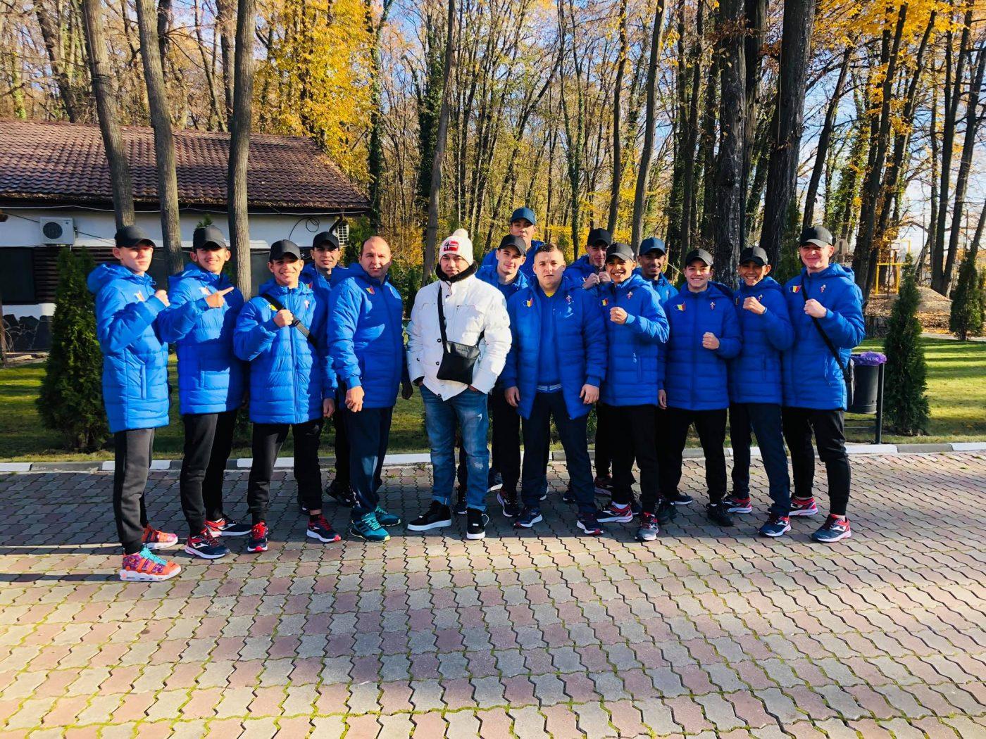 Lotul de băieți deplasat la Campionatele Europene de Box pentru Juniori de la Sofia