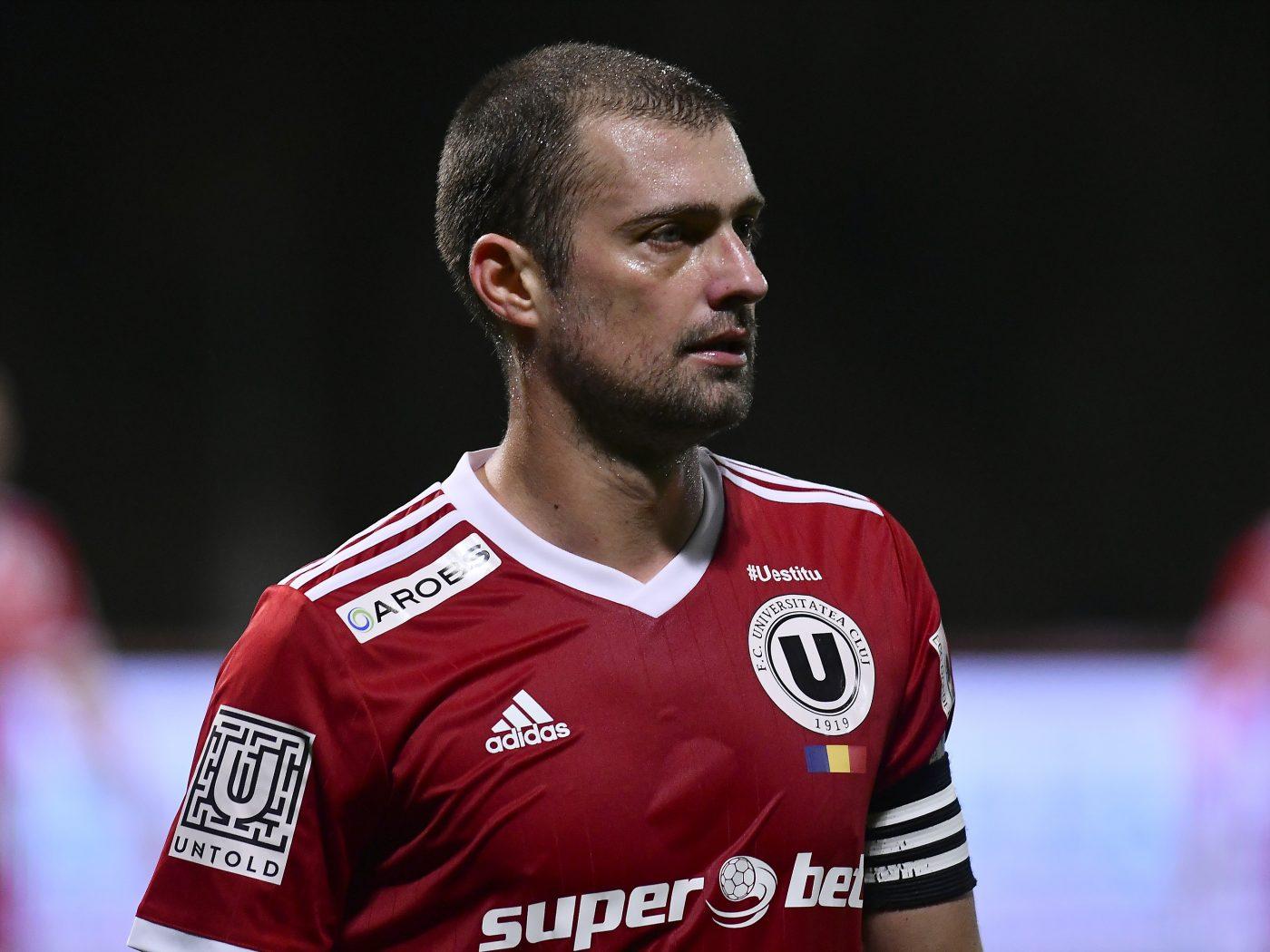 """Gabriel Tamaș a jucat la U doar 9 meciuri, după care a părăsit """"corabia"""" și a semnat cu Voluntari, în Liga 1"""