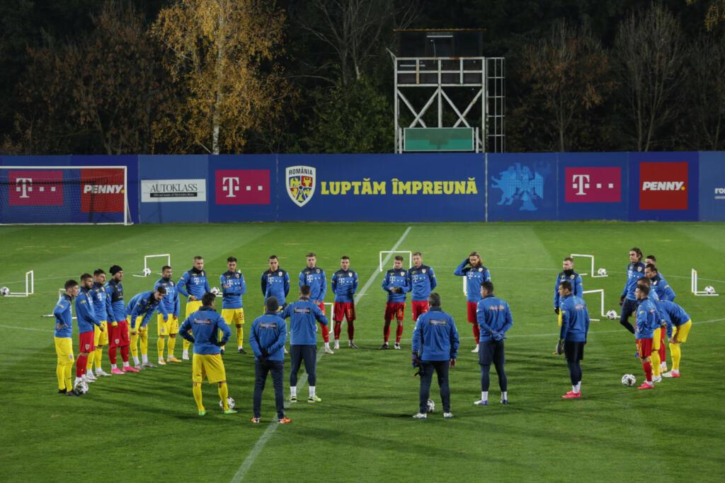 Mirel Rădoi a comandat un joc-școală în locul meciului anulat cu Norvegia