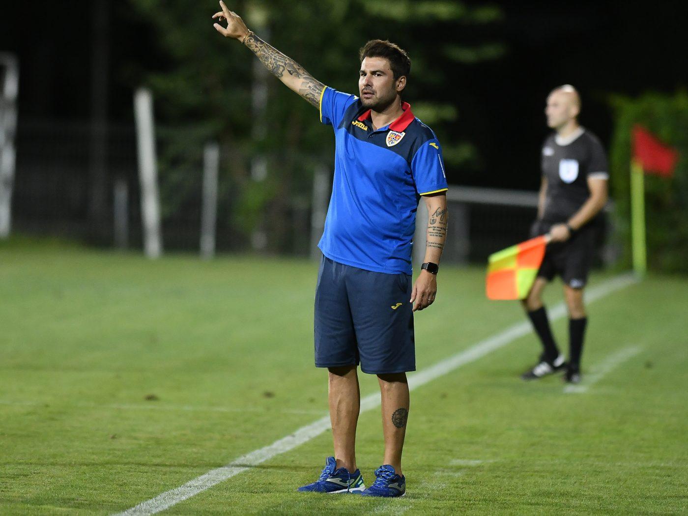 """Adi Mutu i-a oferit credit lui Drăgușin la U21 chiar dacă e mai tânăr decât restul jucătorilor de la """"tineret"""""""