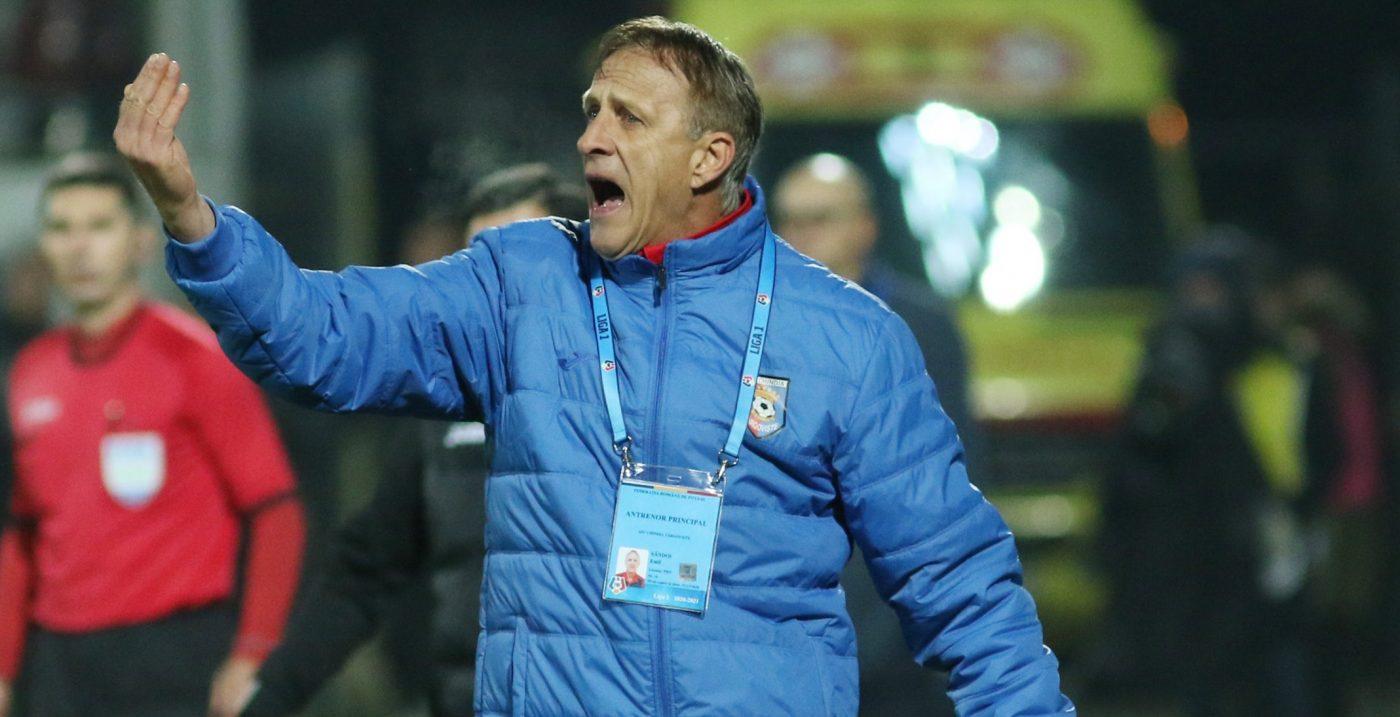 """Emil Săndoi a mai făcut o victimă, după Craiova: """"Dacă stau bine să mă gândesc…"""" Ce spune despre victoria cu Sepsi, care duce Chindia la un pas de play-off"""