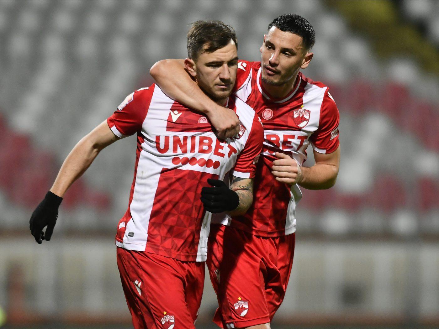 Paul Anton și Deian Sorescu (stânga) au rămas alături de Dinamo chiar și în momentele grele