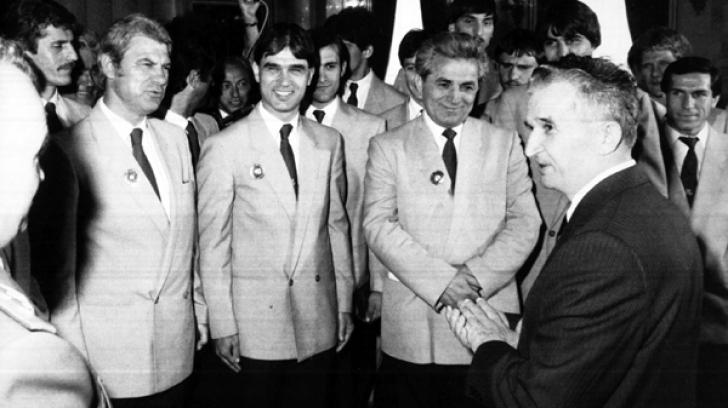 nicolae ceausescu steaua barcelona 1986 finala unde a vazut meciul