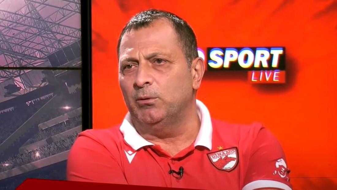 Deși nu mai conduce Academia lui Dinamo, Răduță a rămas apropiat de tinerii jucători dinamoviști