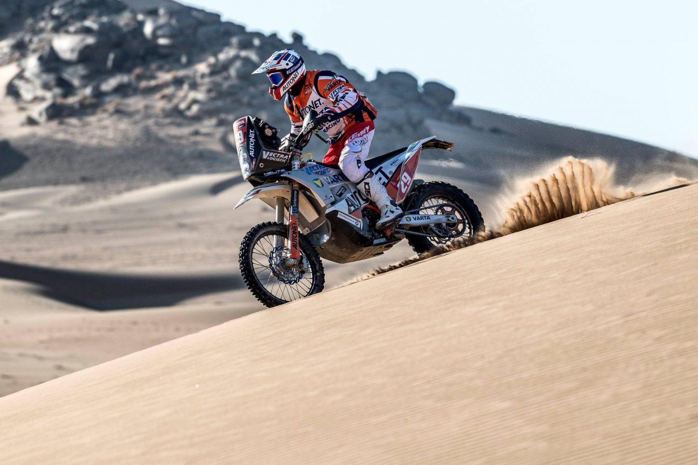 Dakar Mani Gyenes câștigă prestigiosul raliu la clasa sa!