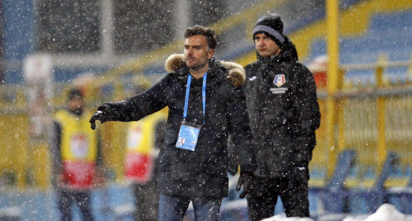 """Ruben Albes se aștepta la o victorie în fața lui Dinamo: """"Ne-am pus mari speranțe în acest meci"""". Explicațiile antrenorului lui Hermannstadt"""