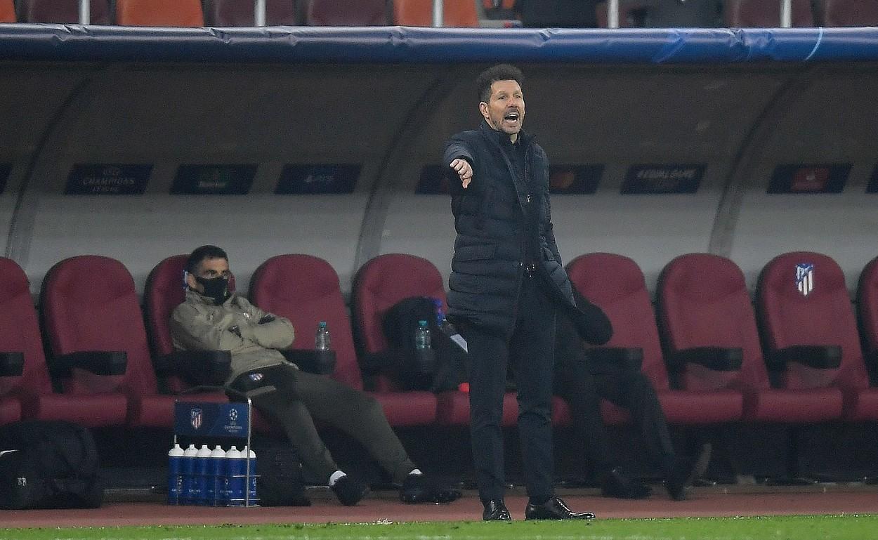 """Diego Simeone, încrezător chiar dacă Atletico Madrid a plecat învinsă de pe """"Arena Națională"""" din București. """"A mai rămas un meci, nu s-a decis nimic"""""""