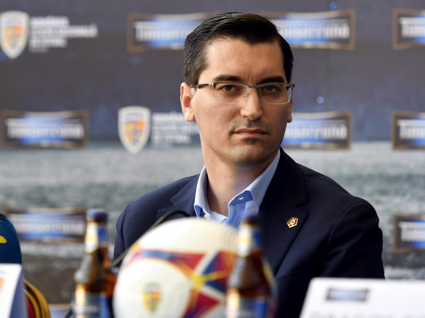 Răzvan Burleanu, președinte FRF