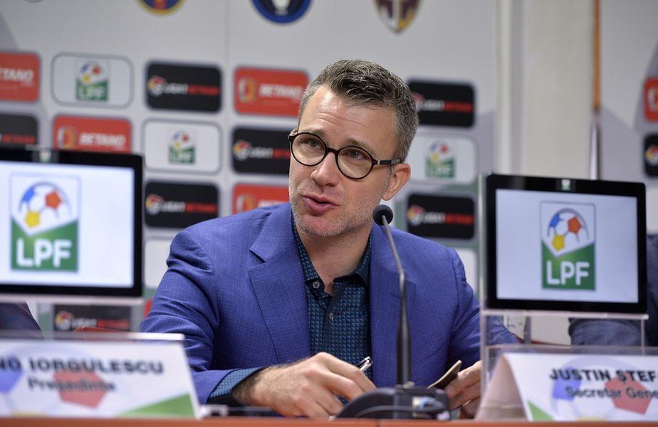 Justin Ștefan, secretar general LPF