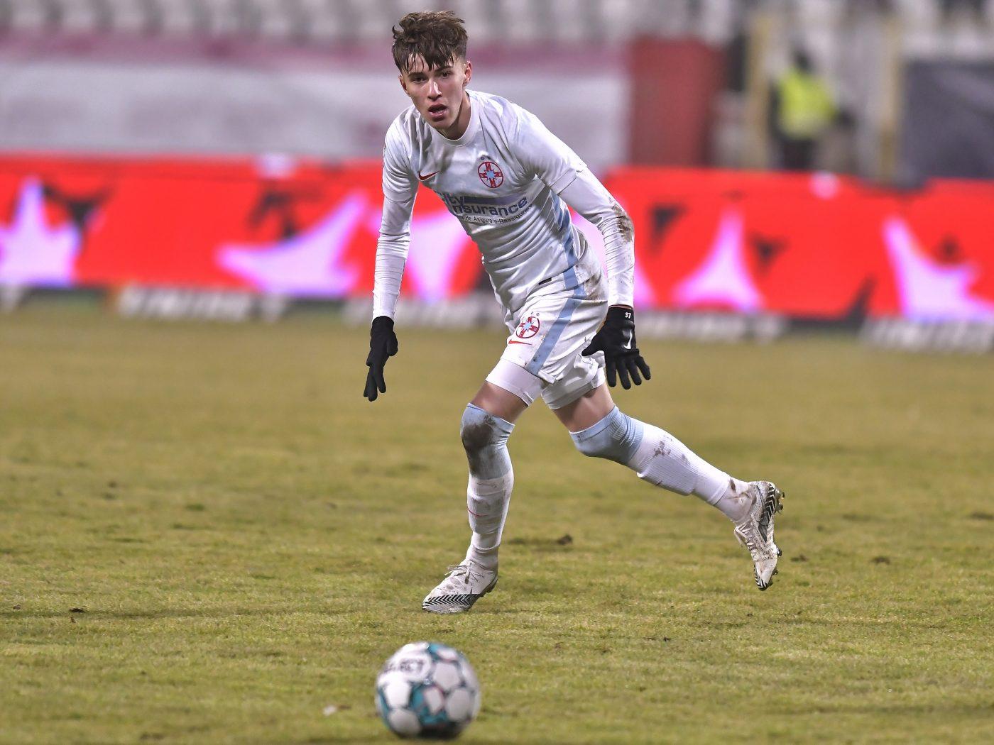 Octavian Popescu, unul dintre cei mai buni oameni ai FCSB în derby-ul cu Dinamo