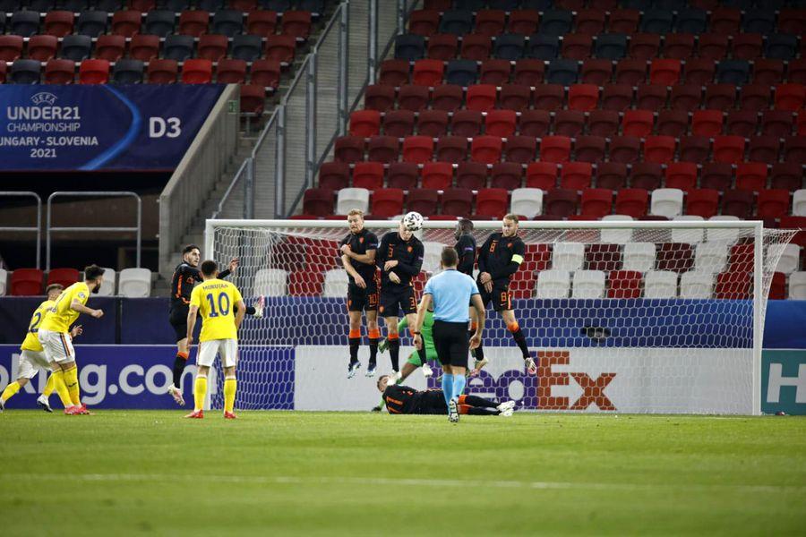 România U21 - Țările de Jos U21, la Campionatul European 2021