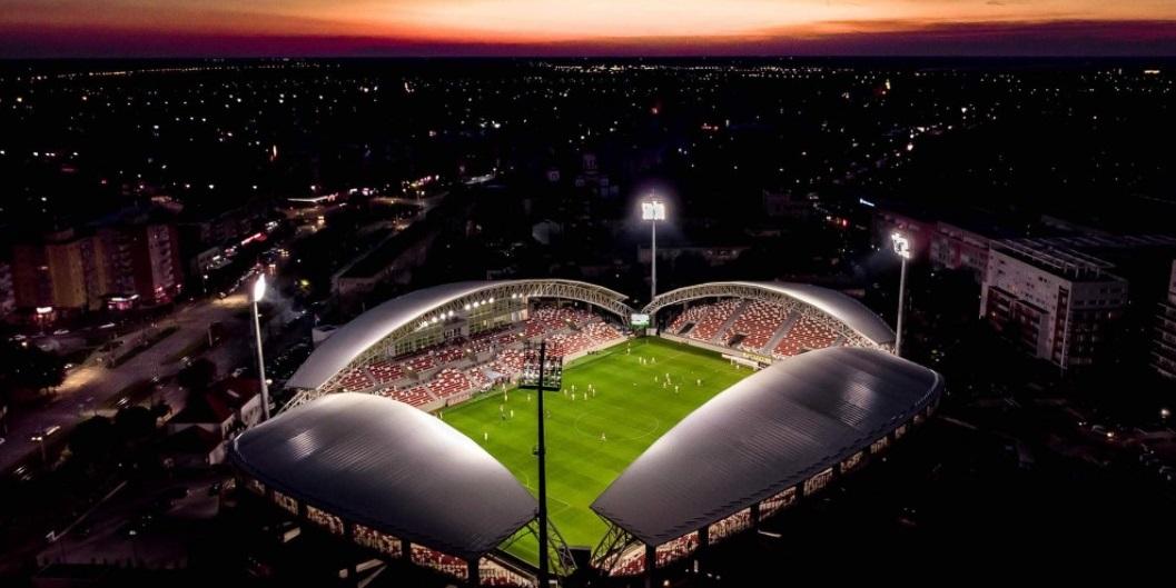 """""""Francisc Neuman"""" din Arad, nominalizat la Stadionul Anului 2020: Casa UTA-ei rivalizează cu cea mai scumpă arenă din lume"""