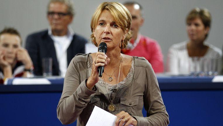 Marcella Mesker, fostă campioană din generația Virginiei Ruzici, este comentatoare și analistă de tenis în prezent.
