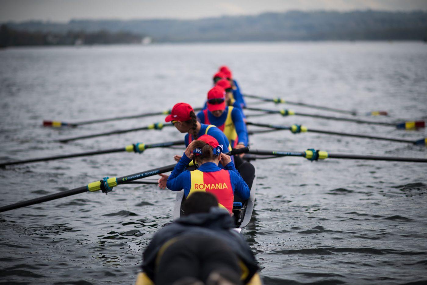 """România are deja o medalie la Campionatele Europene de Canotaj de la Varese. Gianina Beleagă a câștigat """"argintul"""" la simplu feminin, categoria ușoară. Urmează alte 8 finale"""
