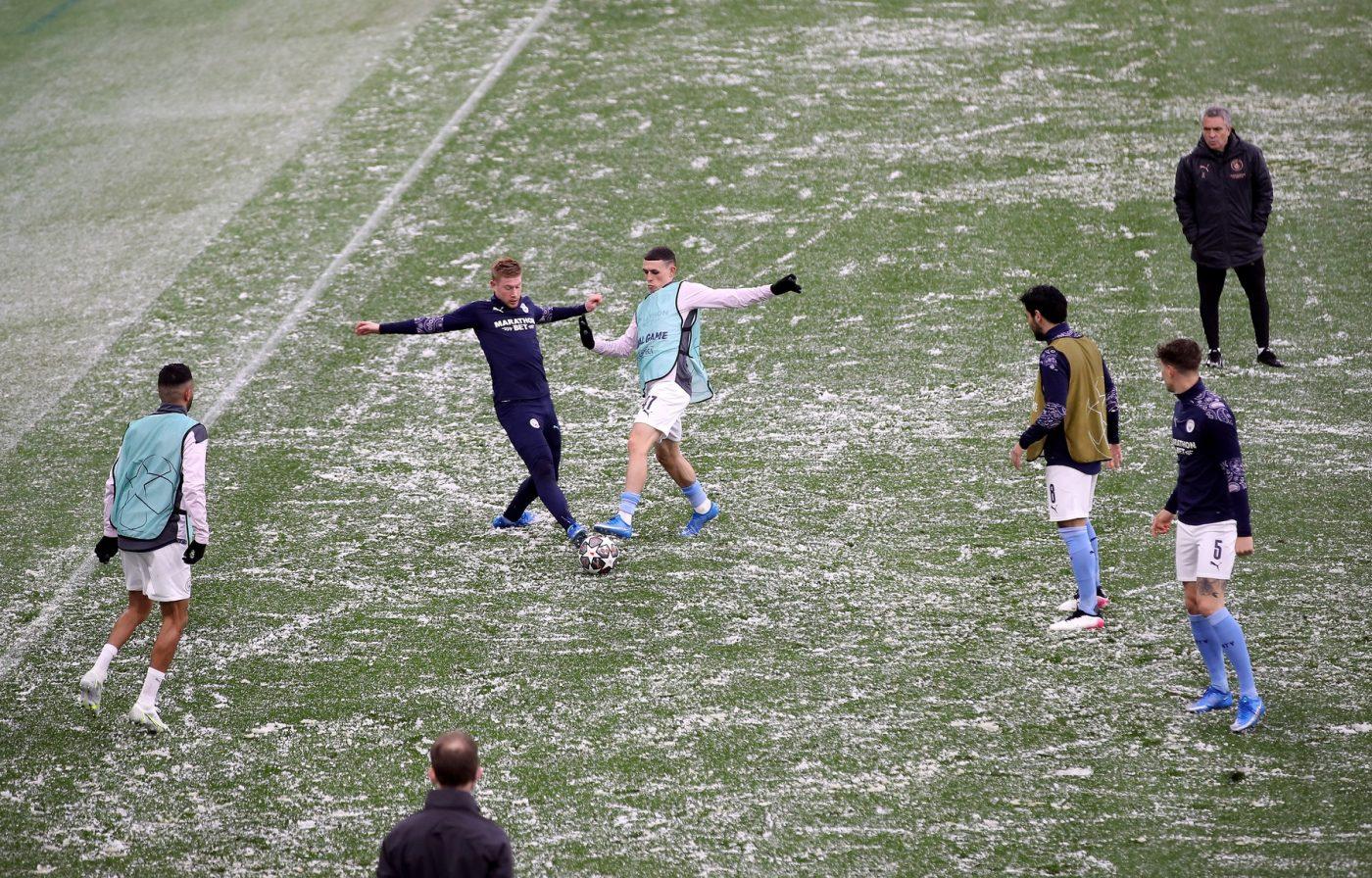 Ice, ice, baby! Semifinala dintre Manchester City și PSG, la un pas de amânare! Neymar și Di Maria, surprinși de imaginile apocaliptice din Anglia | FOTO & VIDEO