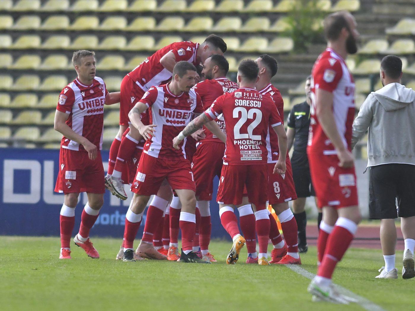 Dinamoviștii au trecut de FC Argeș și au legat cinci victorii
