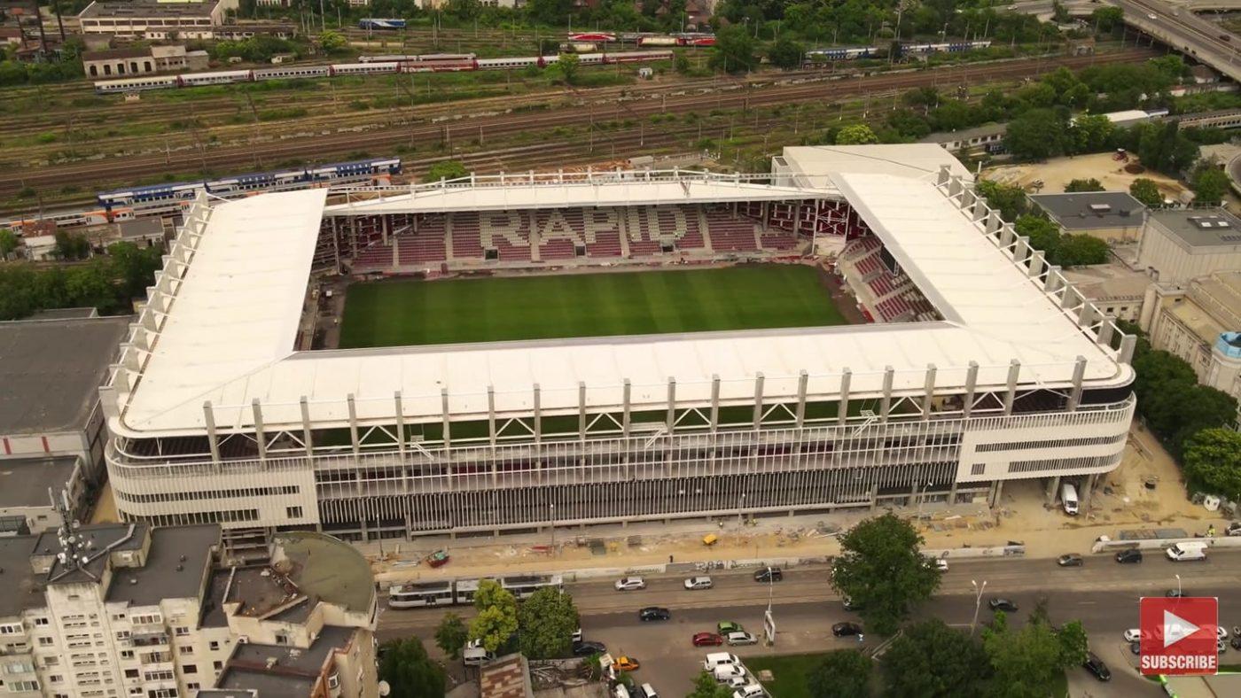 Noul stadion Giulești. Sursă foto: Facebook Giuleștenii