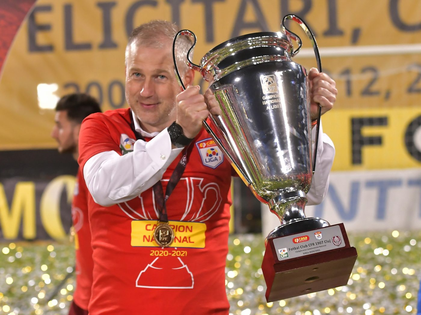 Edi Iordănescu a câștigat cu CFR primul titlu din carieră