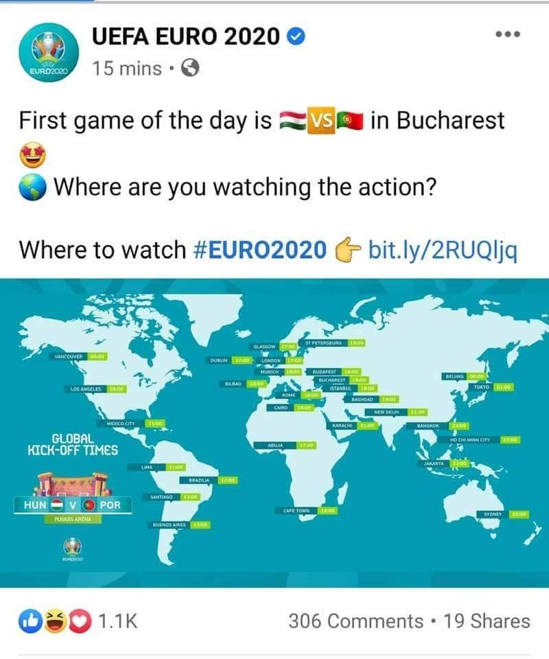 UEFA a confundat Budapesta cu București