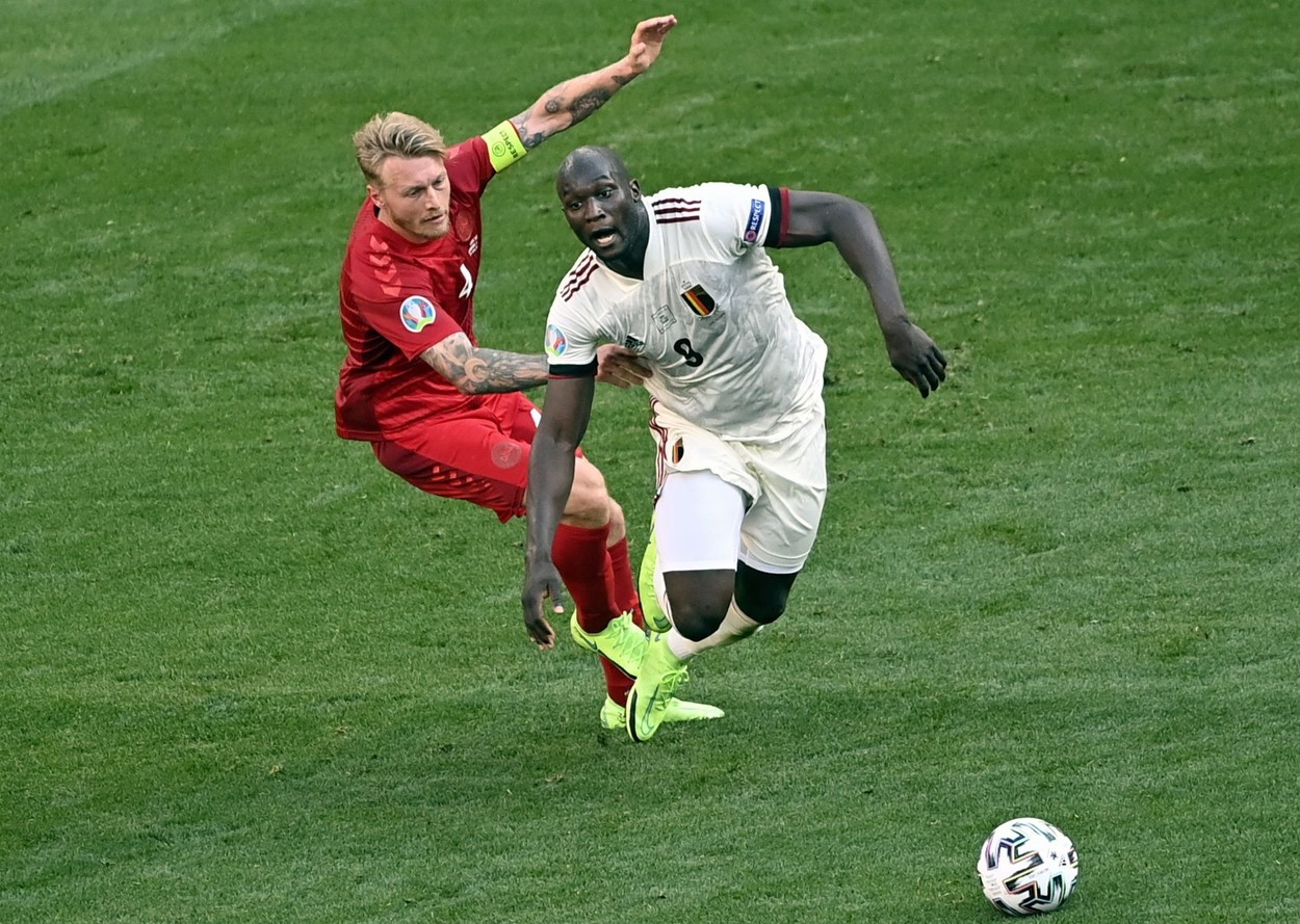 EURO 2020   Danemarca – Belgia, 1-2! Ocazie uriașă pentru Danemarca! Braithwaite trimite în bară cu capul, Courtois rămâne spectator