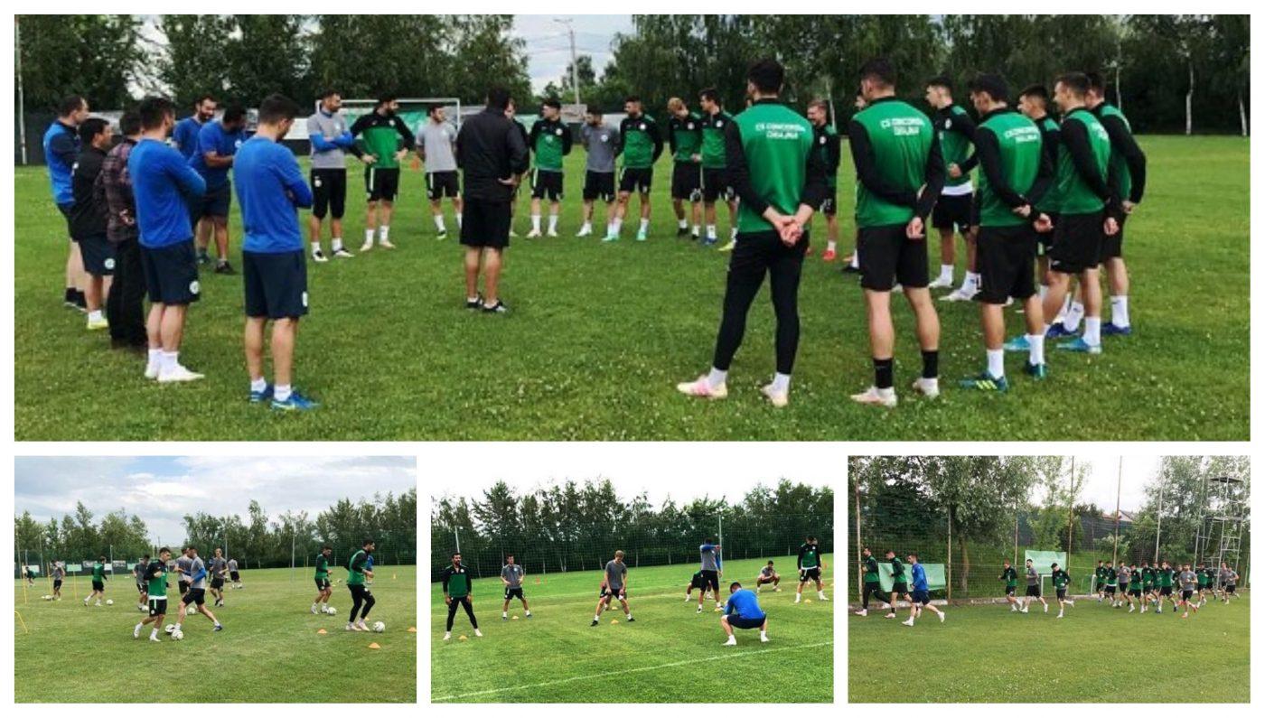Claudiu Niculescu a avut doar 21 de jucători la reunirea Concordiei. Ilfovenii au avut șase noutăți la primul antrenament, iar șase jucători din campionatul trecut au plecat