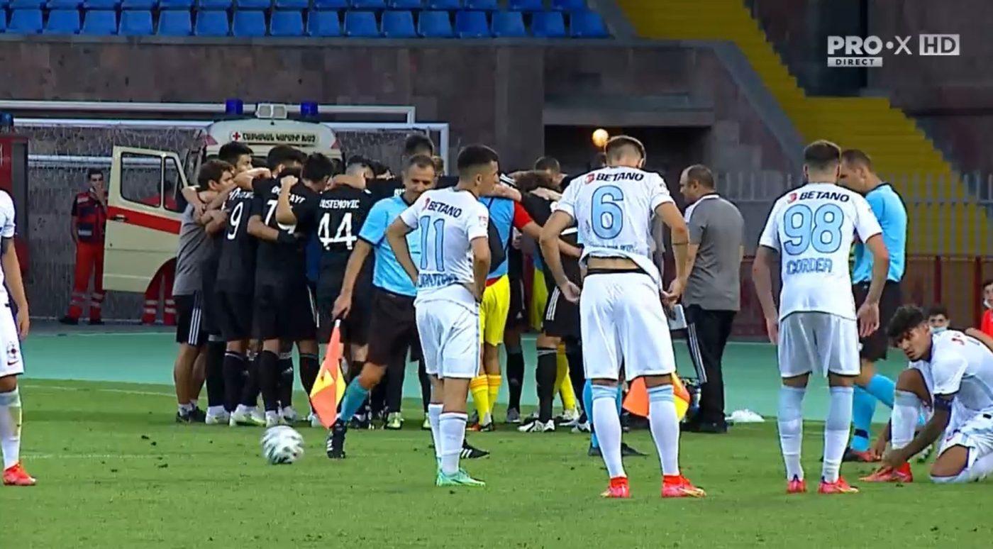 Șahtior Karagandî – FCSB 2-1 (5-3), în turul II preliminar din Conference League | Dezastru pentru FCSB! Moruțan ratează lovitura de departajare și echipa lui Dinu Todoran e eliminată