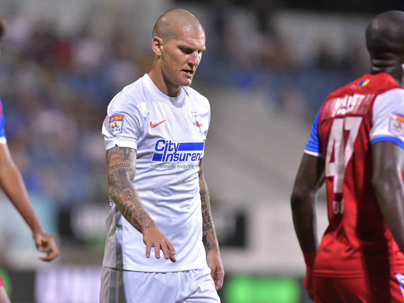 Zdenek Ondrasek a ratat ultima șansă la FCSB! Gigi Becali l-a schimbat la pauza meciului cu Șahtior Karagandî