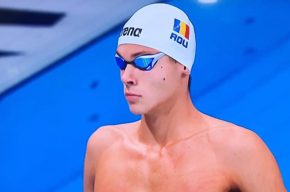 """Prima reacție a lui David Popovici după ce a ratat semifinala la 50 de metri liber, la Jocurile Olimpice: """"Degeaba dai din mâini ca un câine turbat!"""""""